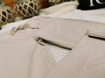 Kalhoty dámské/ béžové