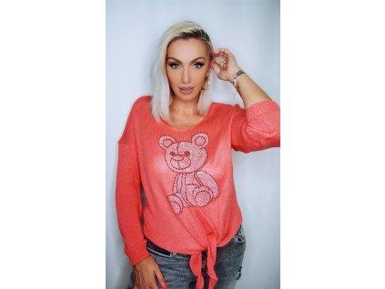Fashionistka: Dámský svetr s medvídkem