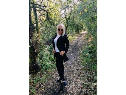 Fashionistka: Dámský kabátek na jaro nebo podzim.