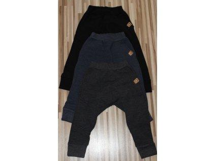 Fashionistka: TEPLÁKY zateplené černé