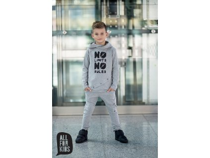 Fashionistka: SOUPRAVA klučičí ALL FOR KIDS šedá