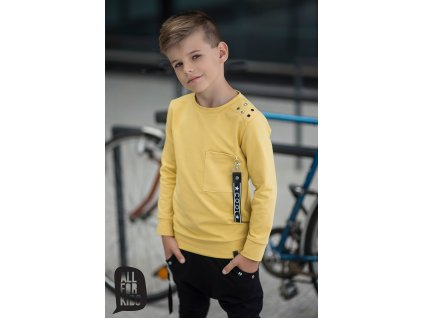 Fashionistka: MIKINA cool ALL FOR KIDS hořčicová