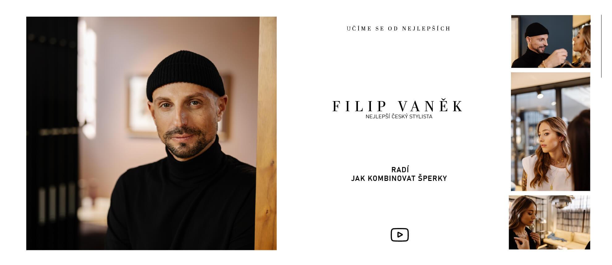 Filip Vaněk doporučuje