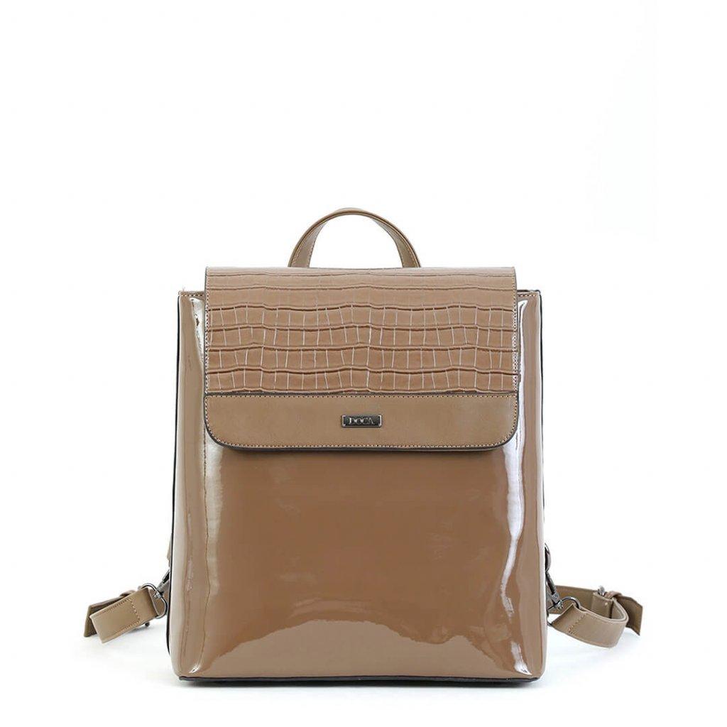 Béžový batoh  DOCA