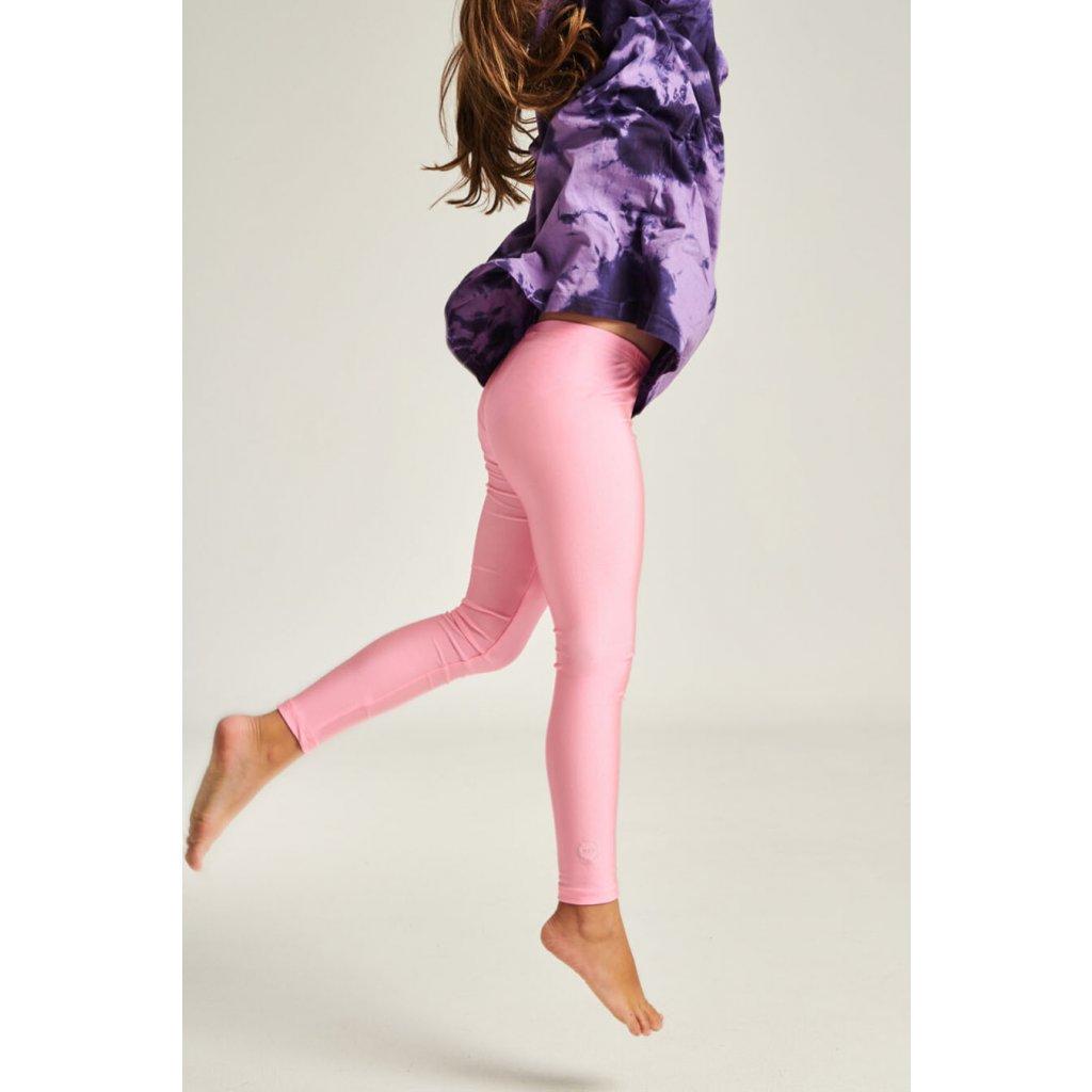 Jacqueline růžové dětské legíny  PCP clothing