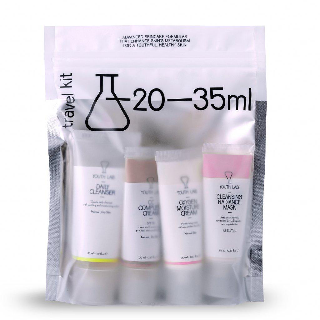 cestovnibaleni cccream odlicovacigel cisticimaska kosmetika travelkit youthlab