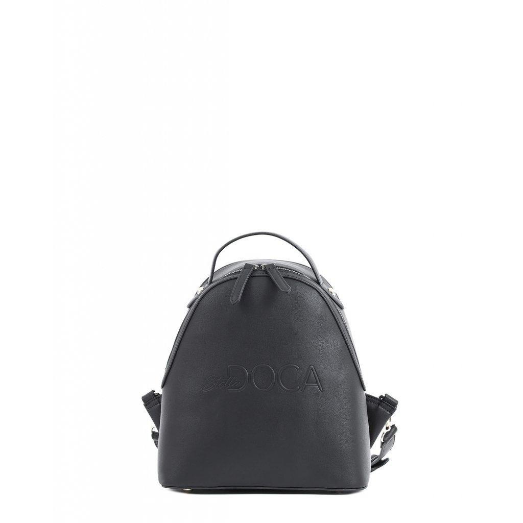 černý eco batoh  DOCA