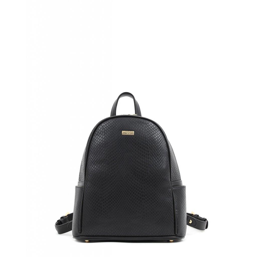 černý batoh  DOCA
