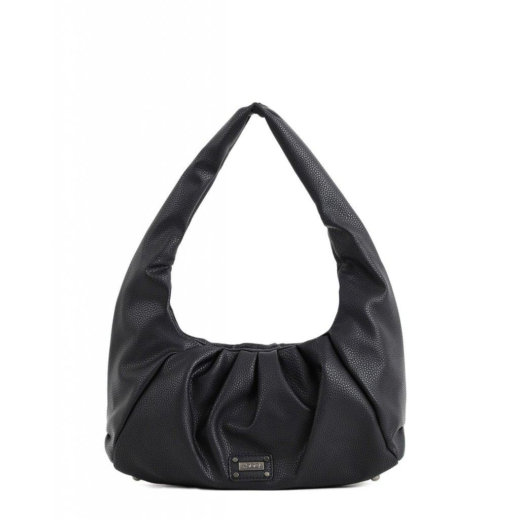 černá bagetová kabelka  DOCA