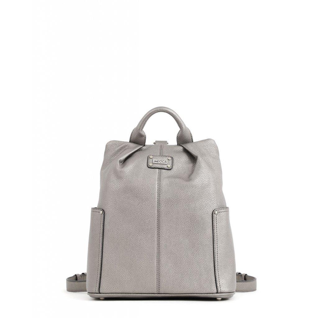 stříbrný batoh  DOCA