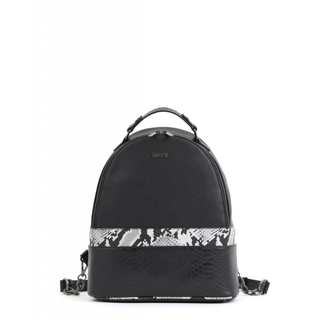 černý designový batoh  DOCA