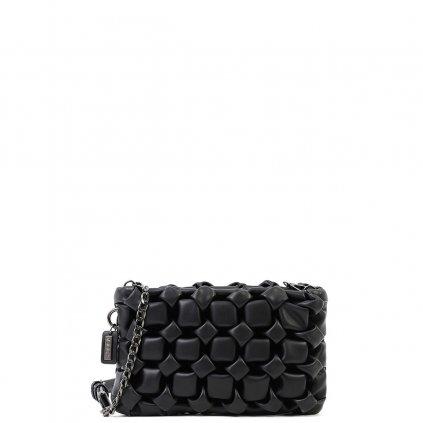 DOCA Luxusní černé crossbody