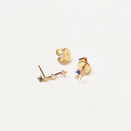 AR01 404 U náušnice zodiac konstelace SKOPEC1
