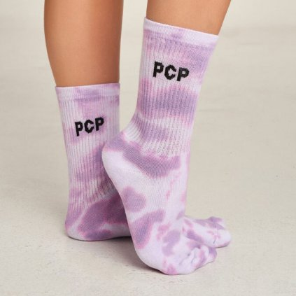 fialove ponozky pcp