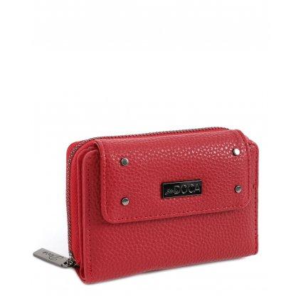 červená peněženka  DOCA