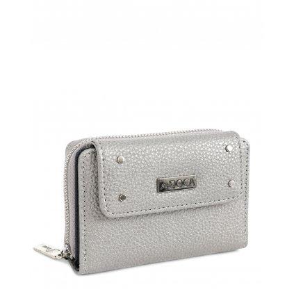 stříbrná peněženka  DOCA