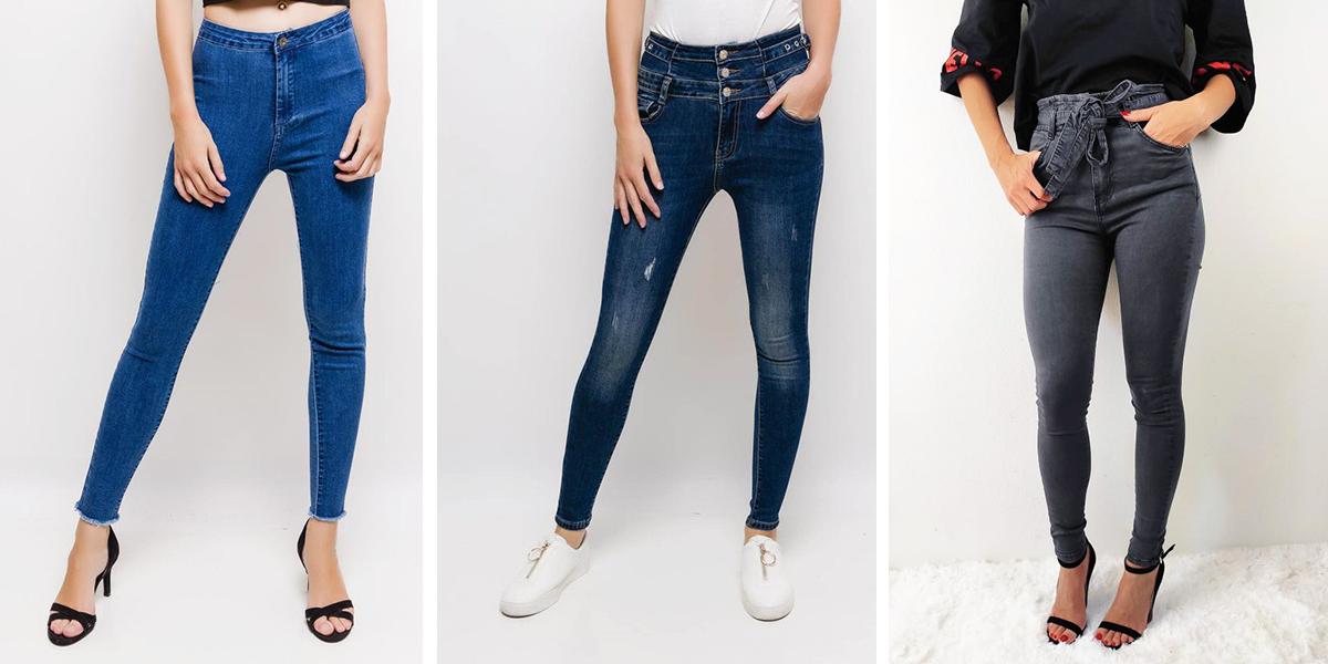Džíny svysokým pasem – trend, který si zamilujete i vy