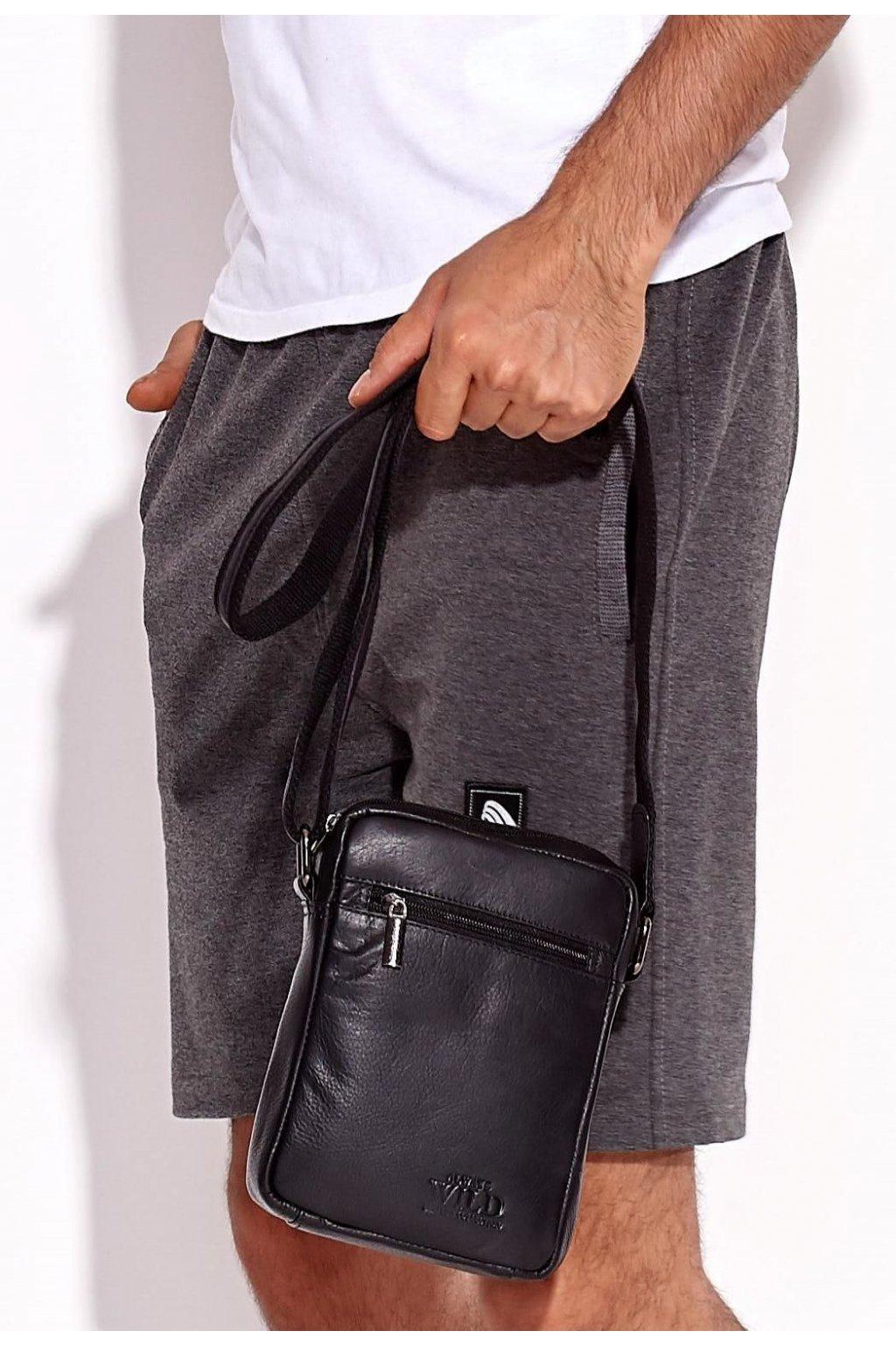 Černá pánská taška přes rameno
