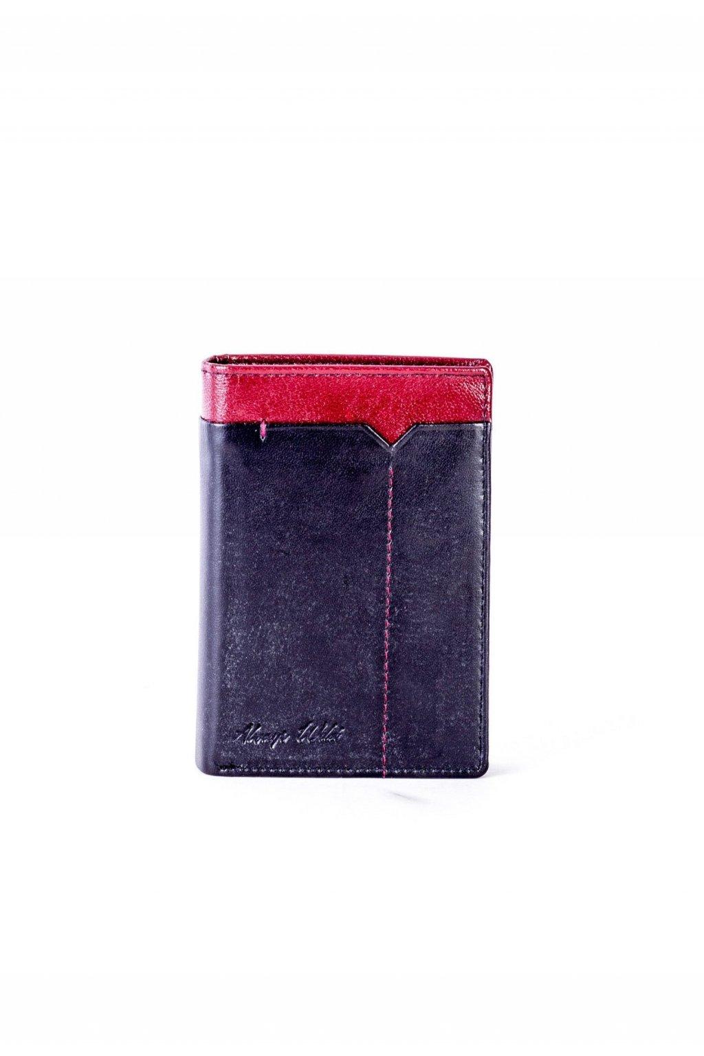 Bordová pánská peněženka