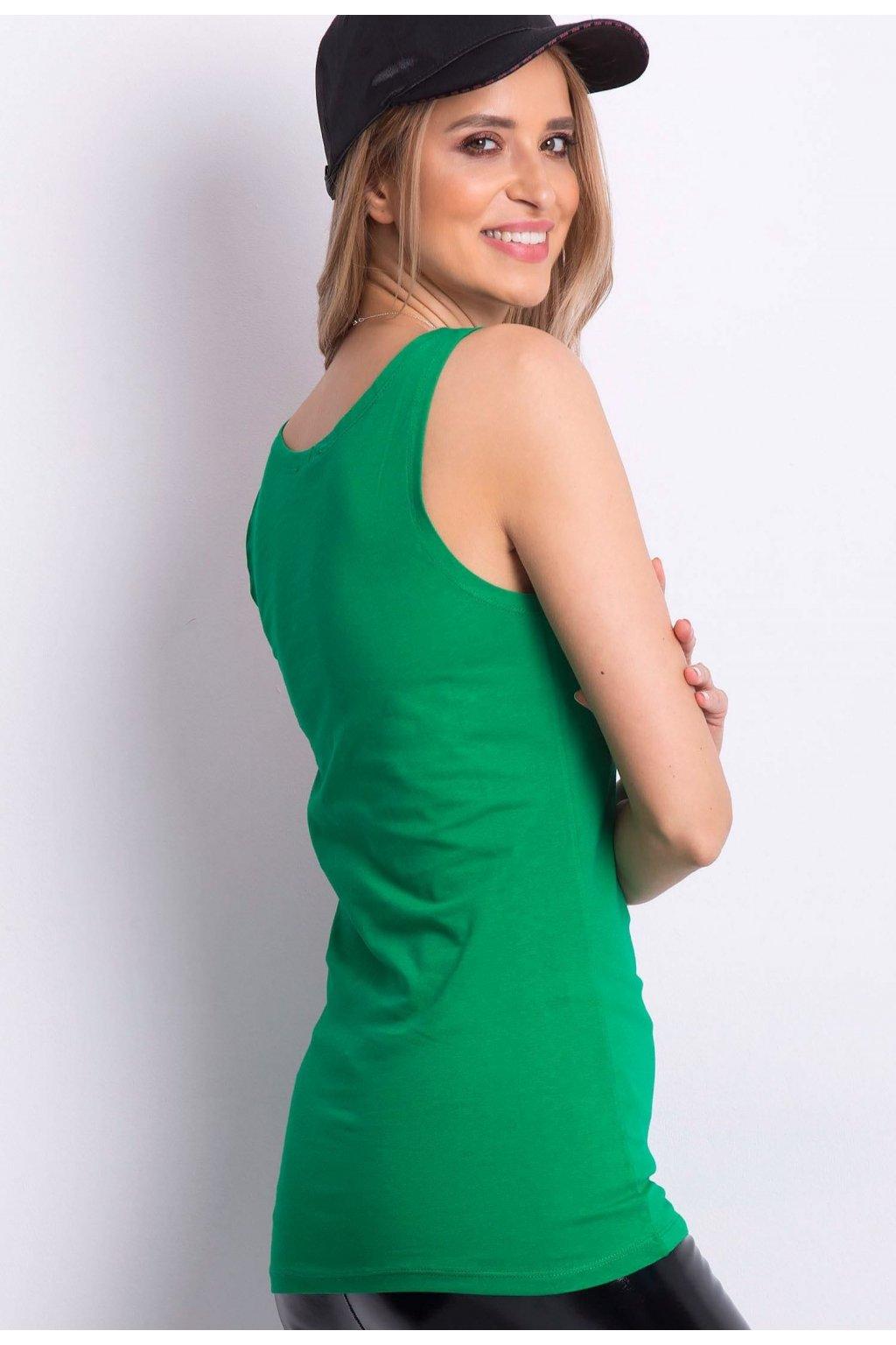 Zelený dámský top
