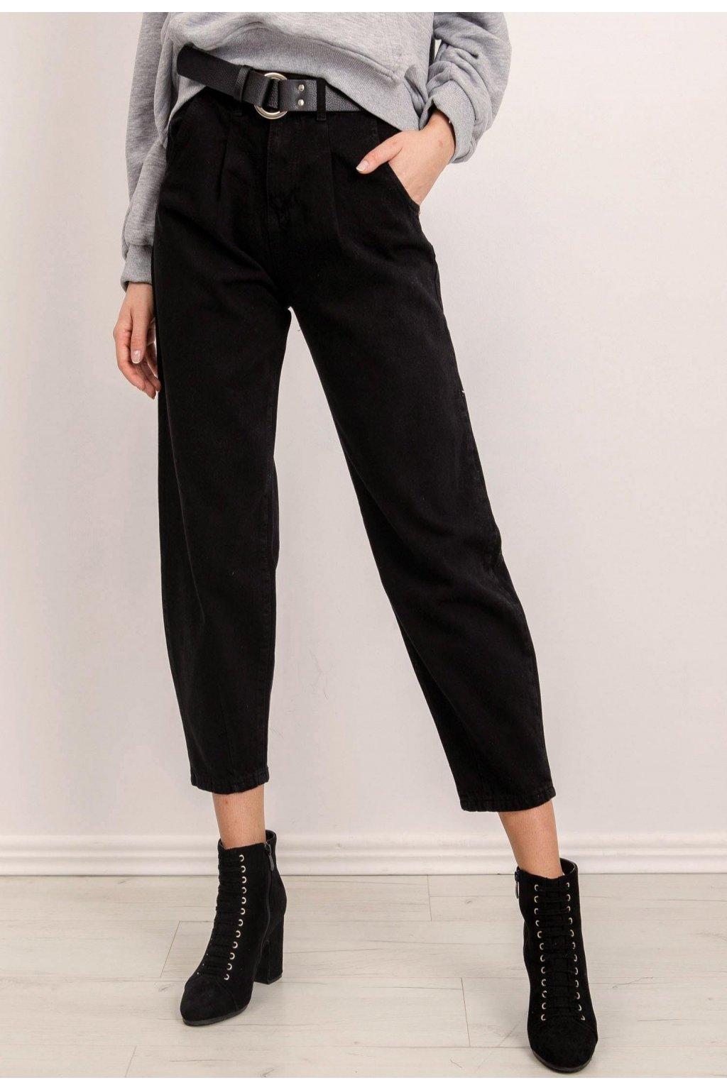 Černé dámské džíny