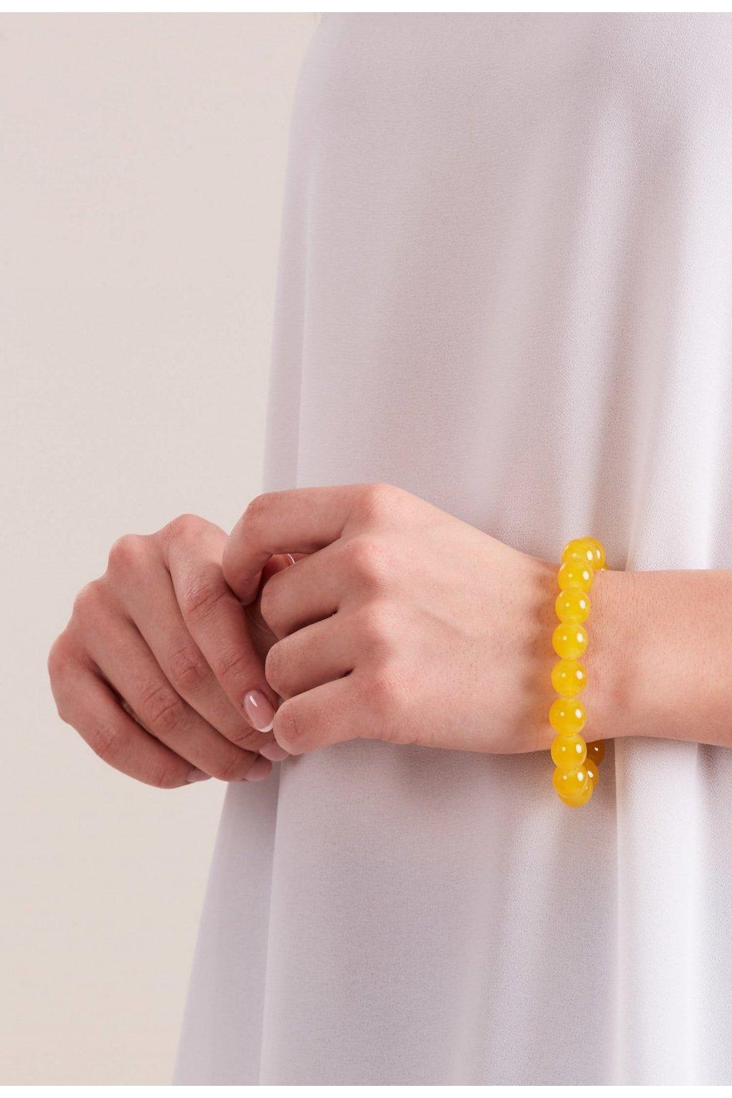 Žlutá dámská bižuterie