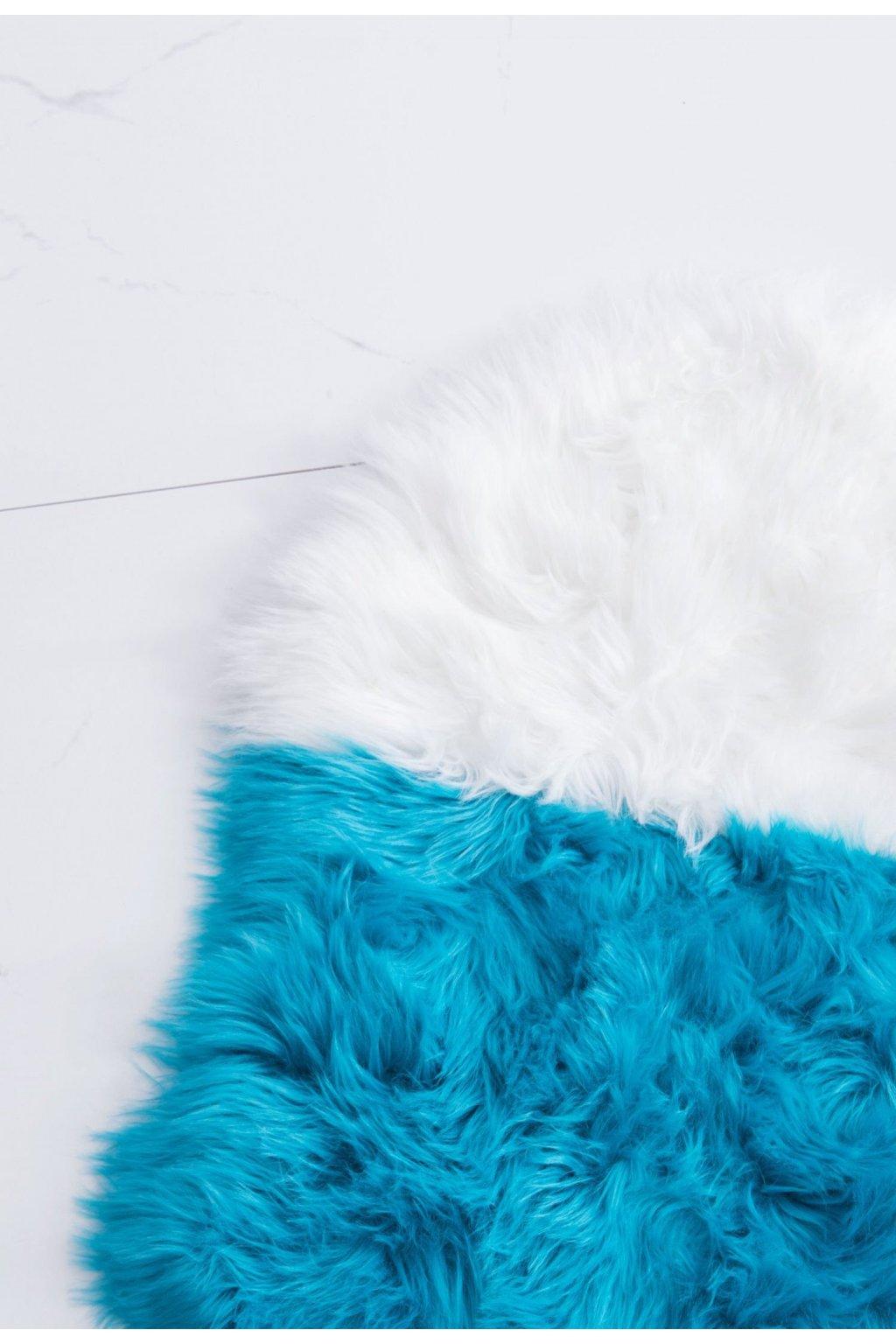 Modrý  designový doplněk