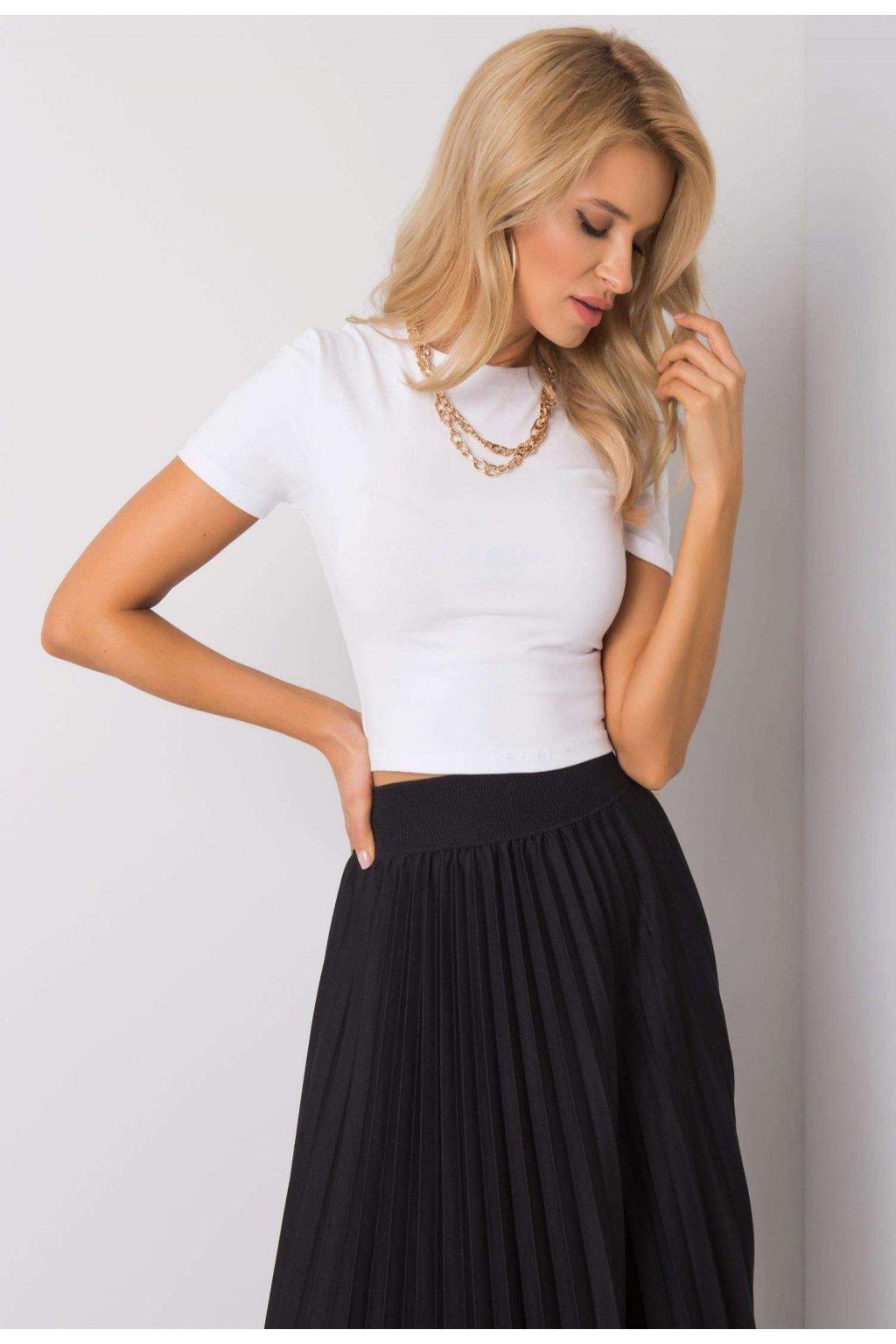 Bílé dámské tričko