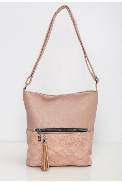 Růžová dámská kabelka