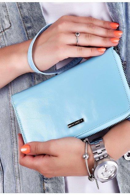Modrá dámská peněženka