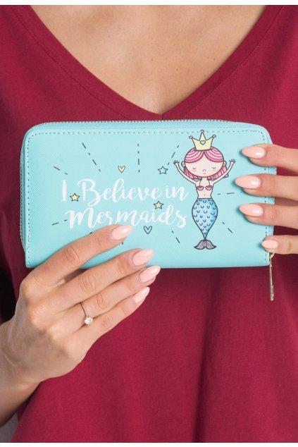 Mátová dámská peněženka