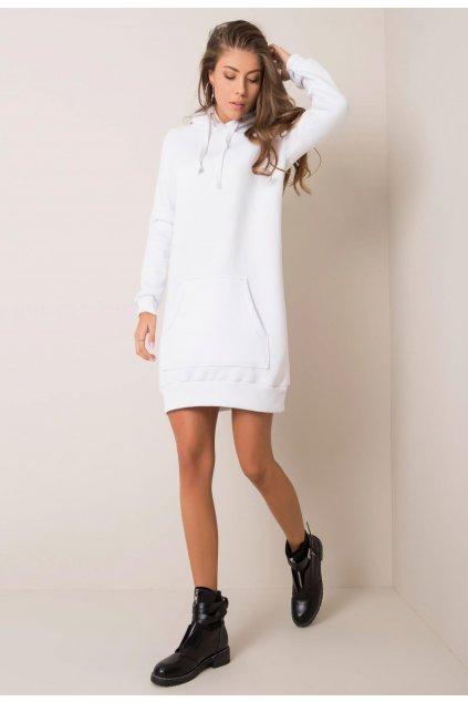 Bílé dámské šaty
