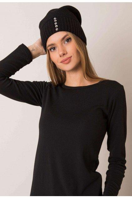 Černá dámská čepice