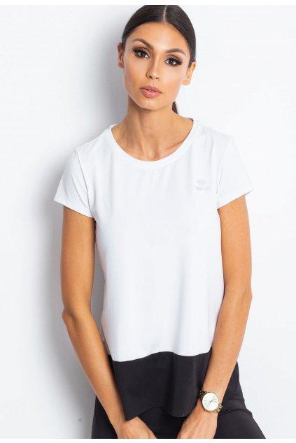 Bílo - černé dámské tričko