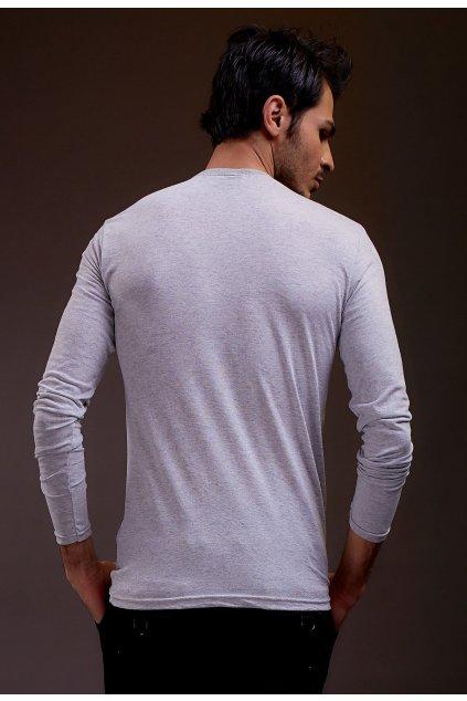 Šedé pánské tričko