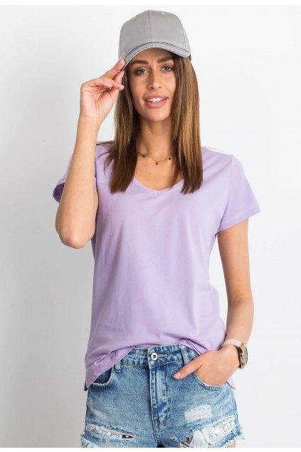 Fialové dámské tričko