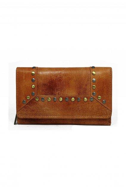 Oranžová dámská peněženka