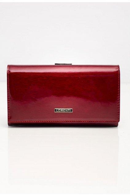 Bordová dámská peněženka