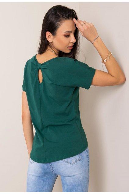 Zelené dámské tričko