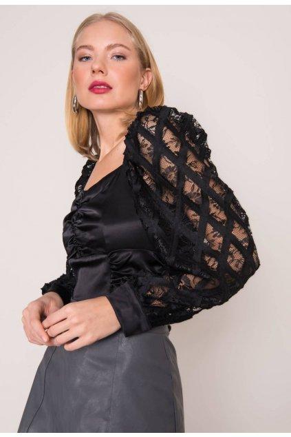 Černá dámská elegantní halenka