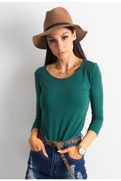 Zelená dámská halenka