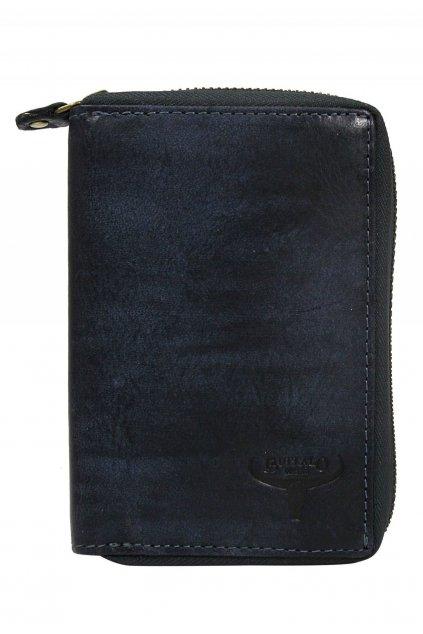 Modrá pánská peněženka