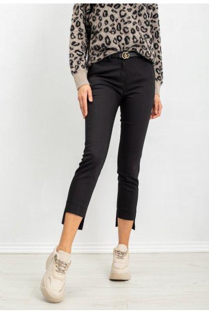 Černé dámské kalhoty