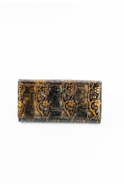 Zlatá dámská peněženka