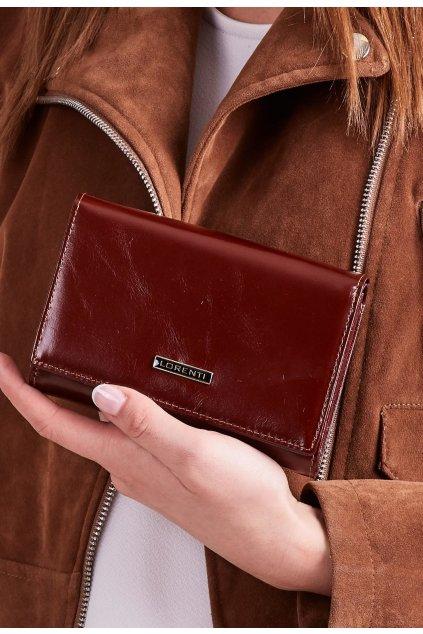 Hnědá dámská peněženka
