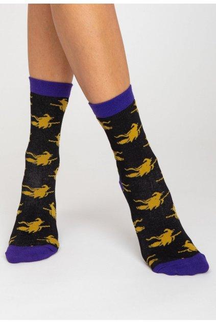 Černé pánské ponožky
