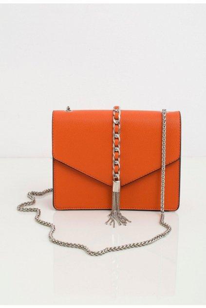 Oranžové dámské crossbody