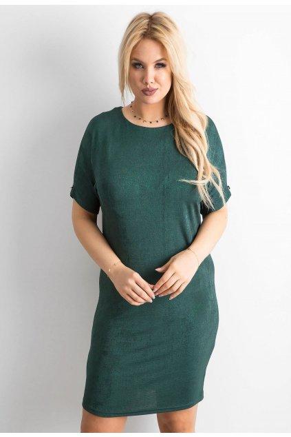 Zelené dámské šaty