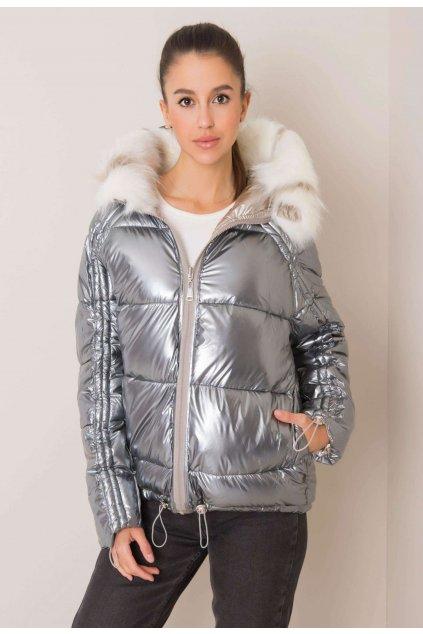 Béžová dámská zimní bunda