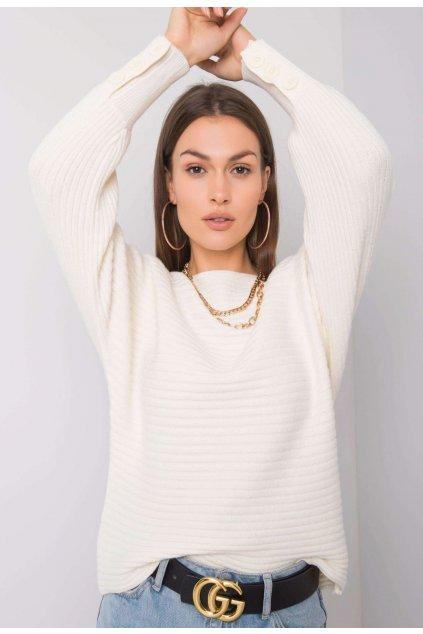 Ecrový dámský svetr